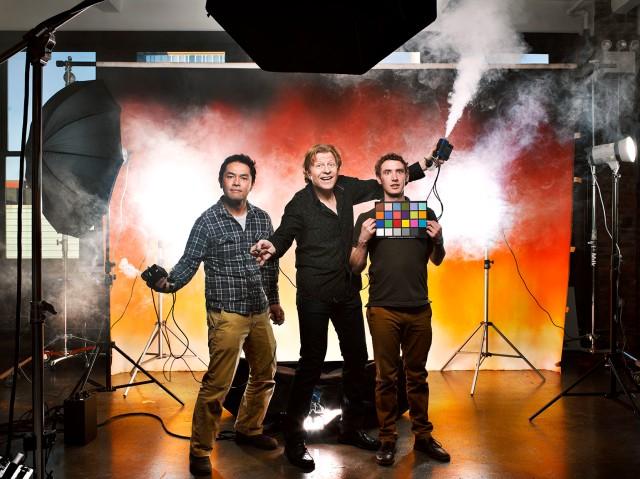 Kaz, Brad & Ben