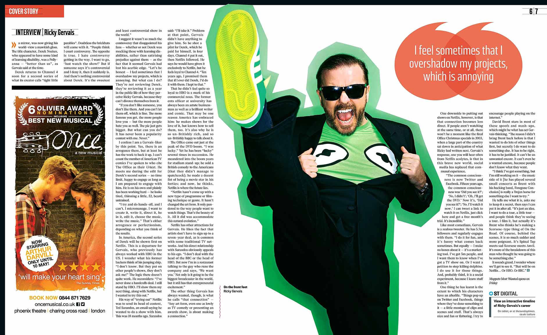 ricky gervais easter essay